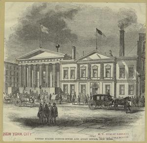 United States Custom-House and Assay Office, New York.