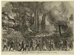 New York -- burning of the provost marshal's office.