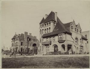 """Residences"", Riverside Drive, N.Y., 110th St."