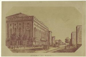 Academy of Music. Digital ID: 809597. New York Public Library