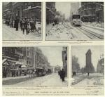 First Blizzard Of 1908 In New York.