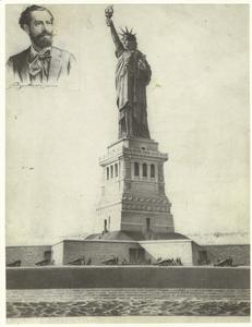[Statue of Liberty ; and, Portrait of Bartholdi, sculptor.]