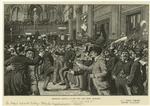 Christmas carnival in the New York Stock Exchange