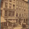 Thitchener & Glastaeter Printers And Toy Store, John Street, New York City.]
