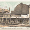 Brooks Clothing Store, Catharine St. N.Y. 1845.