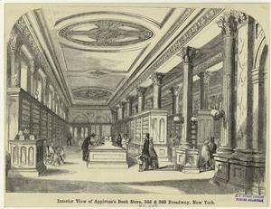 Interior view of Appleton's Bo... Digital ID: 809788. New York Public Library