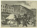 A Riot On Forty-Second Street, Near Broadway.