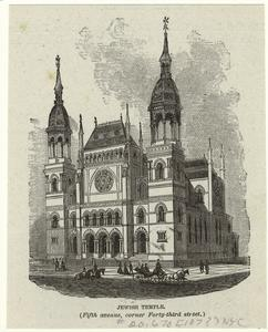 Jewish temple (Fifth Avenue, corner Forty-third street).