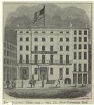 """The """"Wigwam"""" From 1812 To 1868, The First Tammany Hall."""
