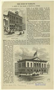 Tammany Hall ; Old Washington Hall, federal head-quarters.