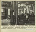 The smoking room of the Democratic club on Fifth Avenue, the social headquarters of Tammany Hall.