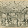 The ball at Tammany Hall, New York, on January 9, 1860, in commemoration of the anniversary of the battle of New Orleans.
