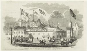 Exterior view of the Hippodrome, on Madison Square, New York.