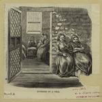 Workhouse on Blackwell's Island  Interior of a cell.