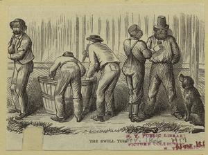 [Workhouse on Blackwell's Island] The swill tub.