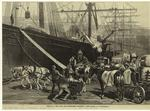 Scene on a New York dock
