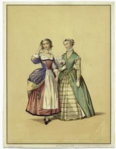 Servante du regne de Louis XIII ; Dame de la cour de Henri III.