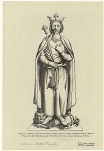 Costume of Charles the Simple (tenth century).