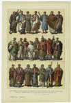 Edad Media -- Trajes De Los Sacerdotes Católico-Romanos De Todas Categorías Desde El Primer Siglo De La Era Cristiana Hasta El Año 1000.