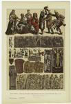 Edad Media - Trajes Civiles Y Religiosos De Los Alemanes Del Siglo Xiii.