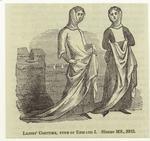 Ladies' Costume, Time Of Edward I.
