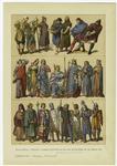 Edad Media : Trajes Y Armas Defensivas De Los Franceses En El Siglo Xiii.