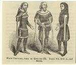 Male Costume, Time Of Edward Iii.