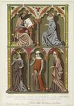 Savant ; Bourgeois ; Reine ; Bourgeoise Et Son Fils ; Dame Noble.