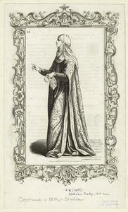Italian lady, 14th cen.