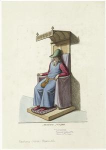 Spanish noble, 15th c.