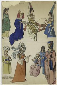 [Noble women, 15th century.]