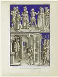Grisailles Tirées De La Vie De Ste. Catherine De Sienne.