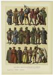 Edad media : trajes de lo