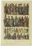 Edad Media -- Trajes De Los Ingleses En La Segunda Mitad Del Siglo Xv (2).