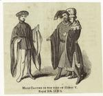 Male Costume In The Time Of Henry V.