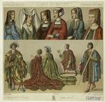 Women And Men, France, 15th And 16th Centuries.