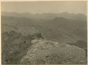 [The Khargati Ridge & Kapirkate from Michni Kandao.]