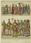 Women Of Rank ; Men Of Rank ; Emperor Sigismond ; Elector Bishop ; Duke Of Bavaria ; Dignitaries ; Jews ; Knights.