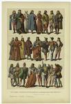 Edad Media -- Trajes De Los Italianos En La Segunda Mitad Del Siglo Xv (1).