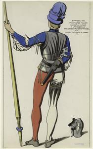 Personnage arme de la dague a ... Digital ID: 811054. New York Public Library