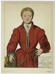 Dame noble de Venise 1540-1550... Digital ID: 811098. New York Public Library