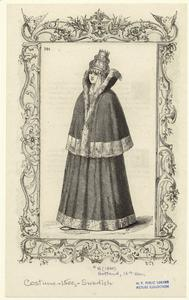 [Swedish woman, Gotland, sixteenth century.]