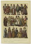 Edad moderna, trajes de los Ingleses en la segunda mitad del Siglo XVI