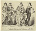 Louise De Vaudemont, Femme De Henri Iii ; Le Duc De Guise ; Marguerite De Vaudemont Et Anne De Joyeuse (1581).