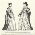 Costumes Des Dames Et Demoiselles De La Cour De Catherine De Médicis.