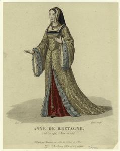 Anne de Bretagne, neé en 1476, morte en 1514.
