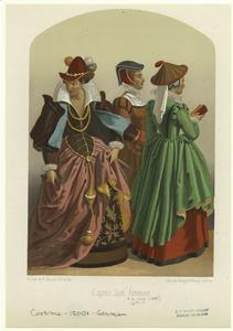 [Women wearing hats, Germany, 16th century.]