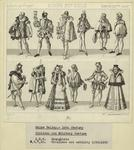 Rhine Valley - 16th century, civilian and military costume