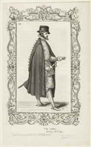[Italian man holding a sword, sixteenth century.]