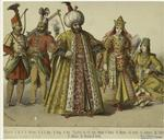 Turks : Guard, Janizary, Sultan, Sultana, Woman Of Rank.